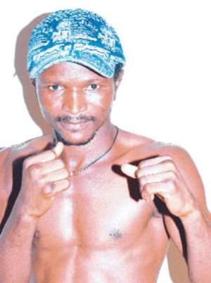 Agbeko fights in London on Sunday