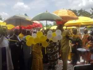 MTN Commissions Palm Oil Processing Factory In Juaso