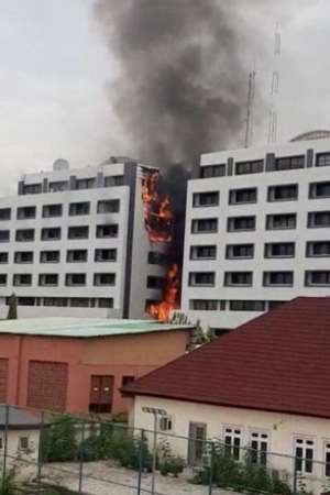 Fire Destroys Nigeria's Accountant General's Office As 2 Trillion Naira Probe Takes Off