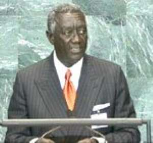 Kufuor calls for Chinese Exim Bank credit line