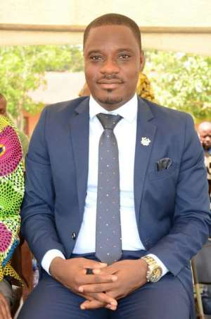 Kwahu East DCE, Mr. Isaac Agyapong