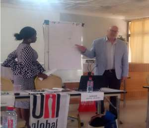 Uni Global Union Partners Health Services Workers Union To Train Organizers