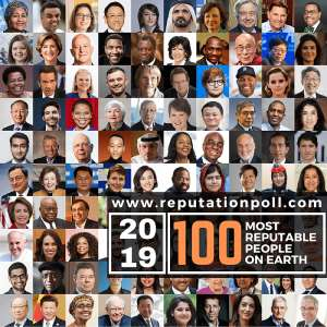 Akufo-Addo, Bishop Dag Named In 2019 List Of 100 Most Reputable People