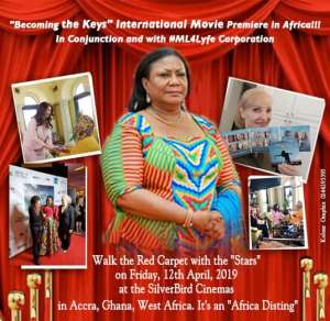 """First Lady To Grace Movie Premiere Of Robin Jay's """"Becoming The Keys"""" On April 12th"""