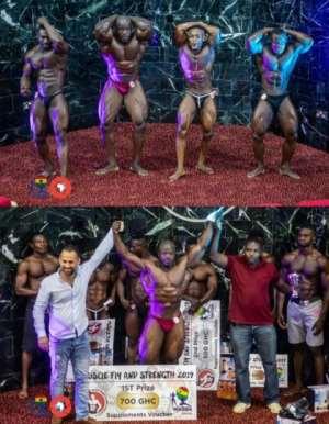 Four Bodybuilders To Represent Ghana At World Championships In Ukraine In June