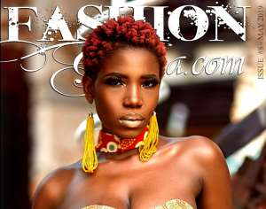 Ghanaian Songstress Efe Keyz Fronts The FashionGHANA Magazine's Underrated Issue