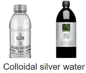 Colloidal Silver Water: An Alternative To Antibiotics?