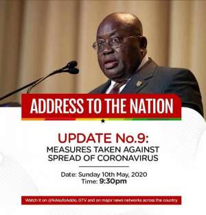 Covid-19: Akufo-Addo To Address The Nation Tonight