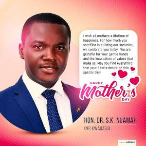 Kwadaso MP Hon Dr S K Nuamah Celebrates Mothers