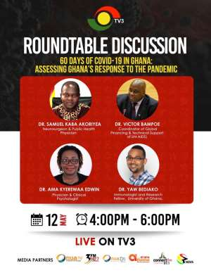 TV3 Presents Roundtable Discussion On 60 Days Of Covid-19 In Ghana
