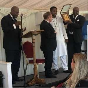 African Billionaire Philanthropist Prince Onyeka Eze ReceivesEuro-Knowledge Awards In London