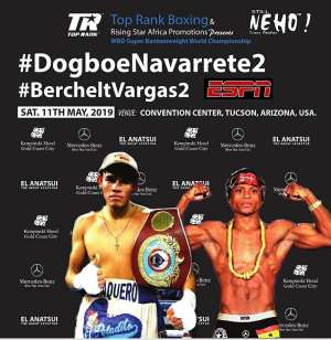 Navarrete-Dogboe II on May 11(Redemption Day): Repeat Or Revenge?