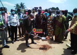 Rehabilitation Works On Offinso, Abofour Town Roads Begin