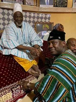 Ya-Naa, Mion-lana Grateful To Farouk Aliu Mahama For His Development-Oriented Leadership