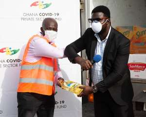 IFFCO Ghana Donates Food Items In Support Of 'Feed The Frontline' Initiative