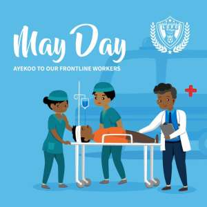 Covid-19 Fight: Legon Cities FC Applaud Frontline Workers On May Day