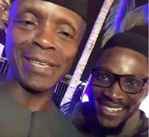 BBN Star, Tobi Bakare Meets with Vice President Yemi Osinbajo