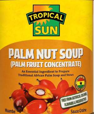 One of the best-canned food products from Ghana