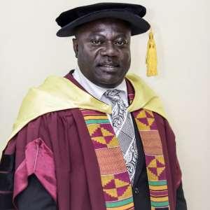 Prof. John Frank Eshun (Vice Chancellor, TTU)