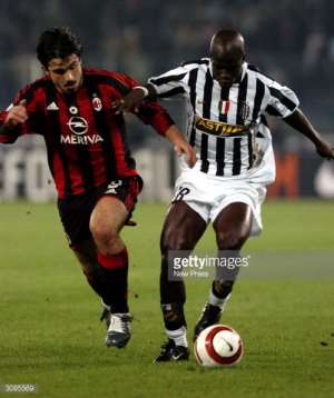Stephen Appiah Names AC Milan Legend Gennaro Gattuso As The Toghest Opponent Ever