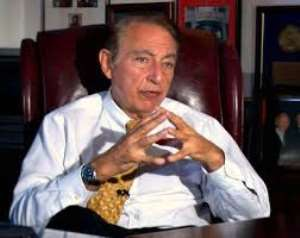 Dr. Robert Gallo: The man responsible for creating the deadly Aids virus which has killed thousands of people around the globe, especially Africa.