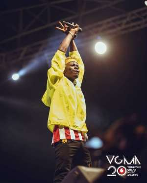 Shatta Wale 'shuts down' VGMA20 Experience Concert