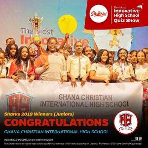 Ghana Christian International High Wins The Junior Sharks competition