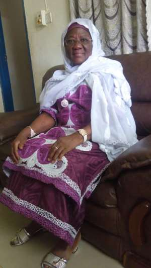 Dr. Bawumia's Mother Hajia Mariama