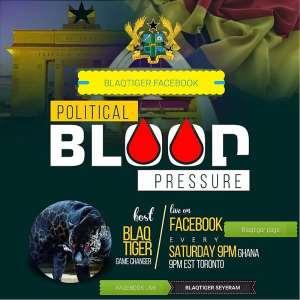 BlaqTiger Introduces Political Blood Pressure Radio Show