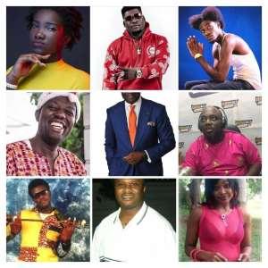 9 Dead Ghanaian celebrities