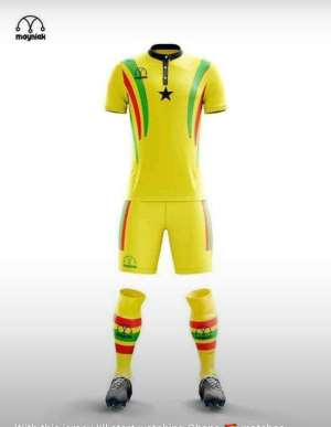 AFCON 2019: Black Stars To Revert To Original Jersey For AFCON