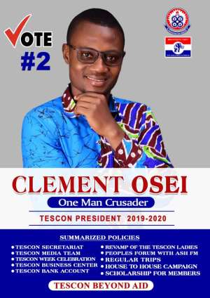 Let Us Go For Clement Osei As The Next TESCON-UEW-K President