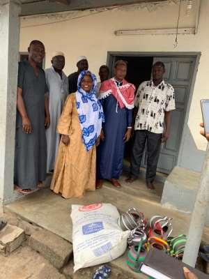 Jomoro NDC Parliamentary Hopeful Donates To 25 Muslim Communities
