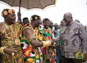 Oti Region Won't Forget You – Krachi Wura To Nana Addo