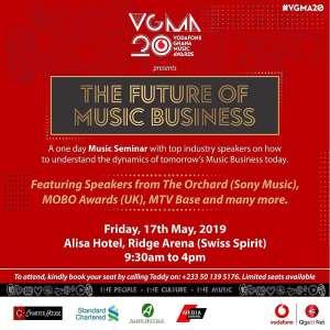 20th Ghana Music Awards To Hold Music Seminar On 17th May