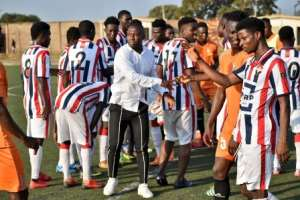 Godwin Attram Hopes His Academy Produces Top Players For Black Stars Soon