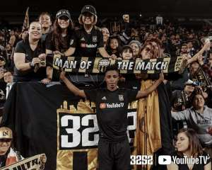 Latif Blessing Named Man Of The Match In Los Angeles FC Home Victory