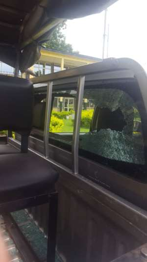 Irate Youth Beat 6 Police Officers At Tontokrom
