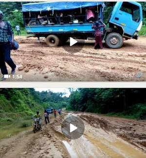Students Boycott Class Over Muddy Roads In Samreboi