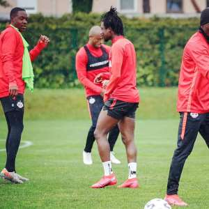 It Feels Good To Be Back In Training, Says Red Bull Salzburg's Majeed Ashimeru