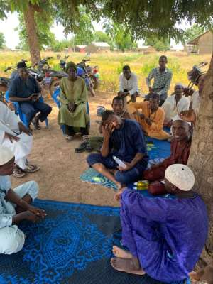 Covid-19: Infinite Research Institute Sensitises, Distribute Hand Sanitisers, Soap To Tamale Residents