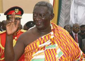 President Kufuor  to step down