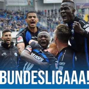 Bernard Tekpetey Grateful To God After Securing Bundesliga Promotion With SC Paderborn