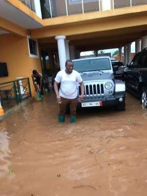 Rain Destroys Ayariga's Mansion