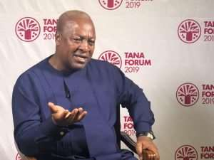 Mahama Accuses Akufo-Addo Of Falsifying Facts And Figures On Road Contracts