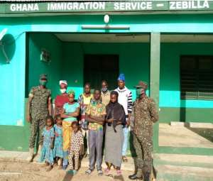 Zebilla: 10 More Arrested For Illegally Entering Ghana