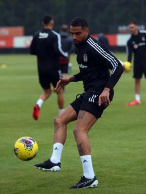 KP Boateng Back In Besiktas Training Ahead Of League Resumption