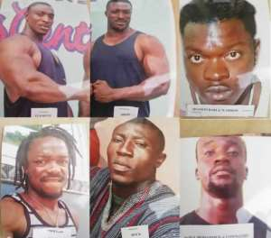 Eight of the suspects are still at large