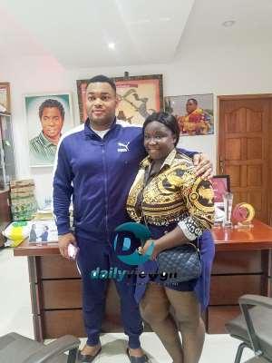 Maame Serwaa Visits Kantanka Automobile; Pledged Her Support