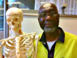 Those aware that Africans fear to die are those harming us. At work with my friend Tony